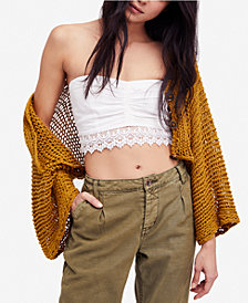 Free People Free Love Open-Knit Shrug