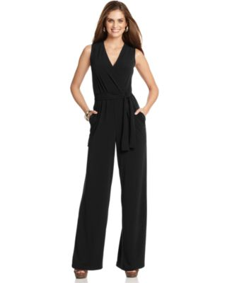 Black Jumpsuit: Shop Black Jumpsuit - Macy's