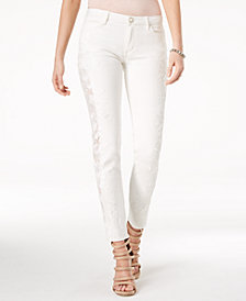 GUESS Appliqué Curvy Skinny Jeans