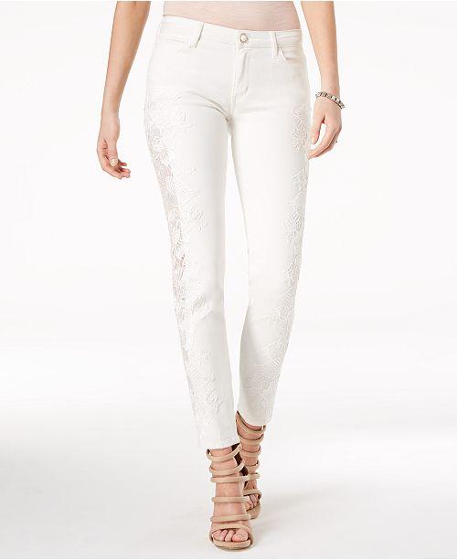 GUESS Appliqué Curvy Skinny Jeans