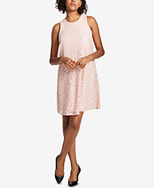 Tommy Hilfiger Sleeveless Lace Shift Dress