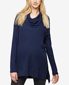 Splendid Maternity Cowl-Neck Sweater