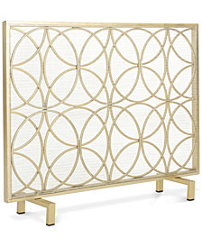 Panel Fireplace Screen, Quick Ship