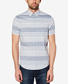 Original Penguin Men's Striped Slim-Fit Stretch Shirt