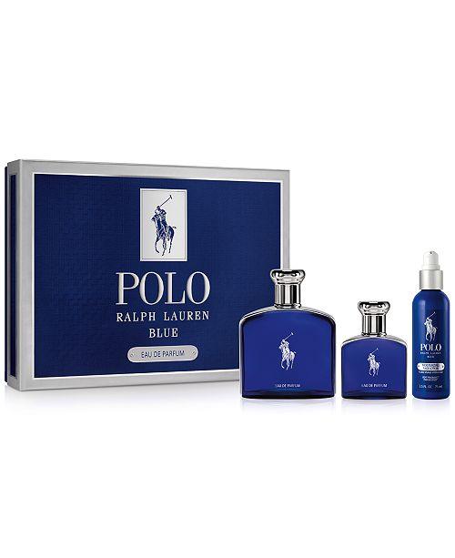 Ralph Lauren Men s 3-Pc. Polo Blue Eau de Parfum Gift Set ... 211f27ba59fc7