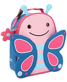 Little Girls Zoo Lunchie Insulated Lunch Bag
