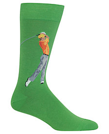 Hot Sox Men's Golfer Socks