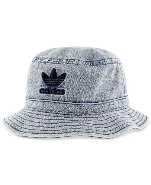 adidas adidas Men s Originals Denim Bucket Hat - Hats f35262f54b8