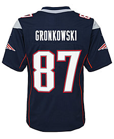 Nike Rob Gronkowski New England Patriots Limited Team Jersey, Boys (8-20)