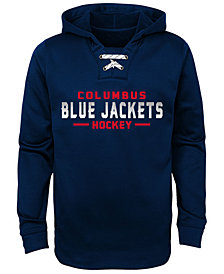Outerstuff Columbus Blue Jackets Hockey Hoodie, Big Boys (8-20)
