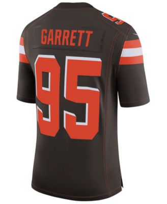 nike men s myles garrett cleveland browns limited jersey sports rh macys com