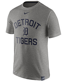 Nike Men's Detroit Tigers Dri-Fit Slub Arch T-Shirt