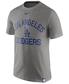 Nike Men's Los Angeles Dodgers Dri-Fit Slub Arch T-Shirt