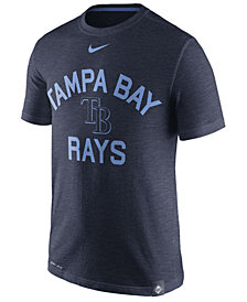 Nike Men's Tampa Bay Rays Dri-Fit Slub Arch T-Shirt
