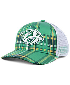 adidas Nashville Predators St. Patrick's Day Adjustable Cap