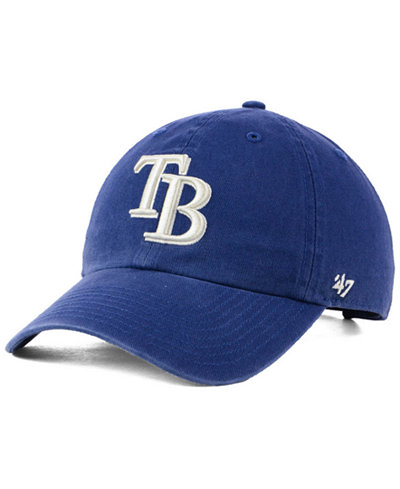 '47 Brand Tampa Bay Rays Timber Blue CLEAN UP Cap