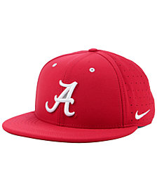 Nike Alabama Crimson Tide Aerobill True Fitted Baseball Cap