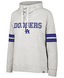 '47 Brand Women's Los Angeles Dodgers French Terry Funnel Hoodie