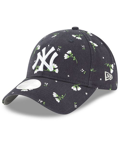 New Era Women s New York Yankees Blossom 9TWENTY Cap - Sports Fan ... 2c458564b6ec