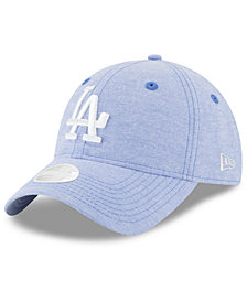 New Era Los Angeles Dodgers Team Linen 9TWENTY Strapback Cap