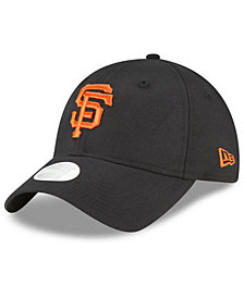 New Era San Francisco Giants Team Linen 9TWENTY Strapback Cap