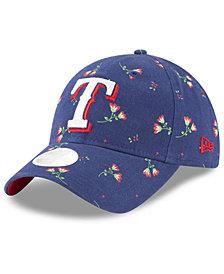 New Era Texas Rangers Blossom 9TWENTY Strapback Cap