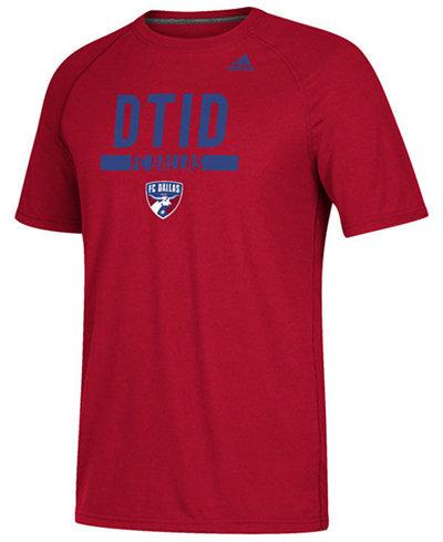 adidas Men's FC Dallas Utility Work T-Shirt