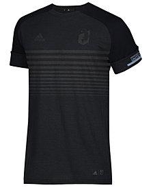 adidas Men's Minnesota United FC Black Out T-Shirt