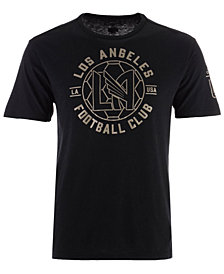 adidas Men's Los Angeles Football Club Linear Icon Tri-Blend T-Shirt