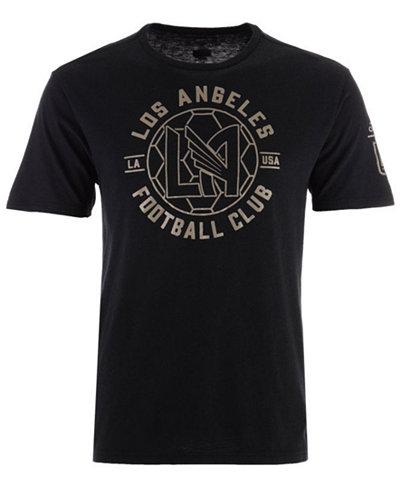 adidas Men's Los Angeles Football Club Linear Icon Tri-Blend T-Shirt