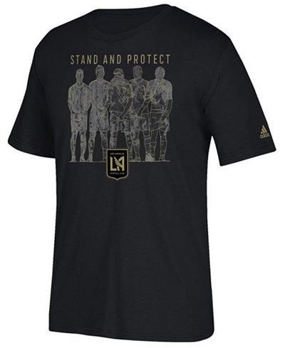 adidas Men's Los Angeles Football Club The Wall T-Shirt