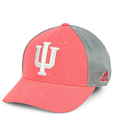 adidas Indiana Hoosiers Heathered Team Flex Cap