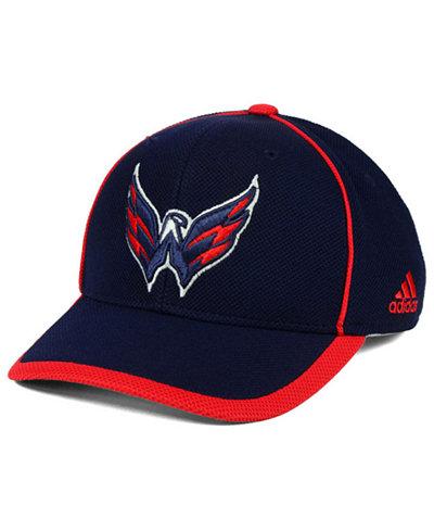 adidas Washington Capitals Clipper Adjustable Cap