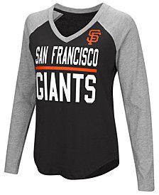 G-III Sports Women's San Francisco Giants Power Hitter Raglan T-Shirt