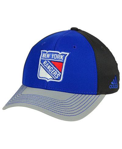 adidas New York Rangers 2Tone Stitch Flex Cap