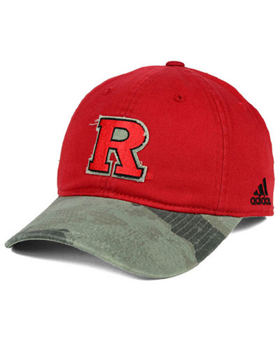 adidas Rutgers Scarlet Knights Camo Code Slouch Cap