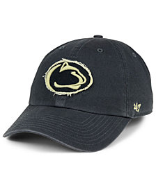 '47 Brand Penn State Nittany Lions Double Out CLEAN UP Cap