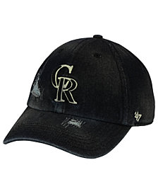 '47 Brand Colorado Rockies Dark Horse CLEAN UP Cap