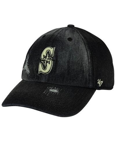 '47 Brand Seattle Mariners Dark Horse CLEAN UP Cap
