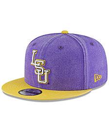 New Era LSU Tigers Rugged Canvas Snapback Cap