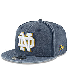 New Era Notre Dame Fighting Irish Rugged Canvas Snapback Cap
