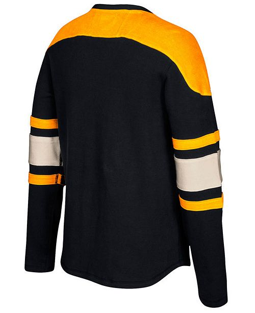 CCM Men s Boston Bruins Laces Crew Shirt - Sports Fan Shop By Lids ... bf2cdc3f3