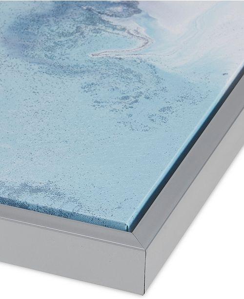 Jla Home Madison Park Blue Lagoon 2 Pc Framed Gel Coated Canvas Print Set Reviews Wall Art Macy S
