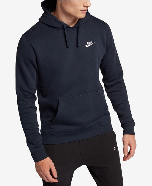 51563f476 Nike Men s Pullover Fleece Hoodie   Reviews - Hoodies   Sweatshirts ...