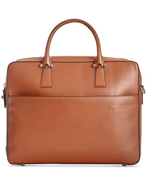 60a09c2f21e Cole Haan Men's Washington Leather Briefcase & Reviews - All ...