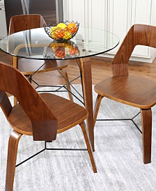 Trilogy Dining Table Collection, Quick Ship