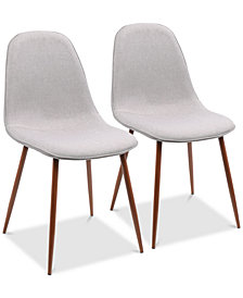 Pebble Dining Chair (Set of 2), Quick Ship