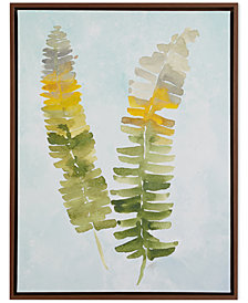 Madison Park Signature Stunning Fern Heavy Roll Gel-Coated Canvas Print with Frame