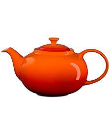 Le Creuset Traditional Stoneware Teapot