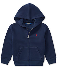 Ralph Lauren Full Zip Hoodie, Toddler Boys